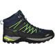 CMP Campagnolo M's Rigel Mid WP Trekking Shoes Black Blue-Gecko